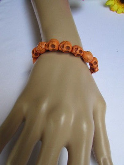 Other Men Women Skulls Elastic Fashion Bracelet Halloween Style Dia De Los Muertos