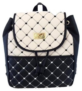 Betsey Johnson Front Snap Pocket Backpack