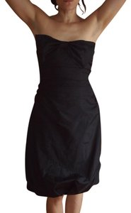Kay Unger Bow Formal Ruched Dress