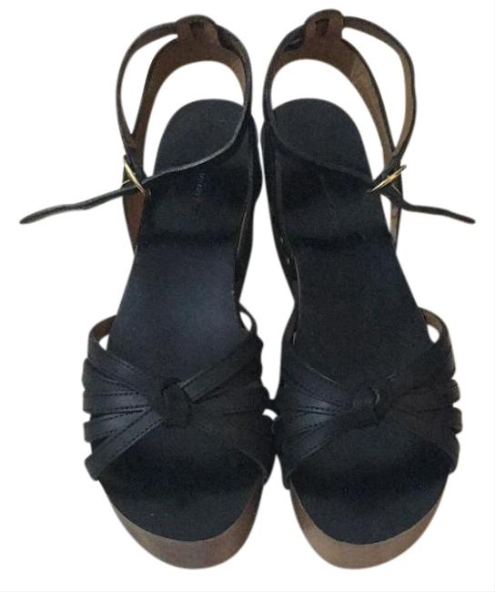 Isabel Marant Black Platform Sandals Size US 9 Regular (M, B) Isabel Marant Black Platform Sandals Size US 9 Regular (M, B) Image 1