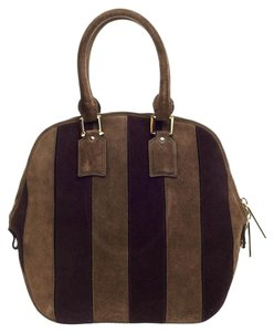 Burberry Suede Orchard Satchel