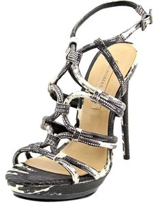 BCBGMAXAZRIA black white Platforms