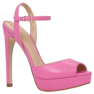ALDO Sandal Cocktail Party Heels Fuchsia Platforms