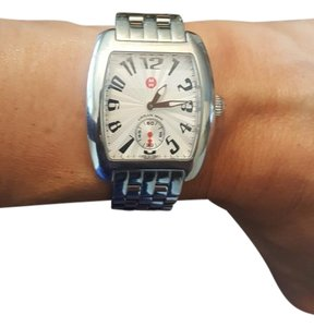 Michele MICHELE Mini Urban With Stainless Steel Bracelet
