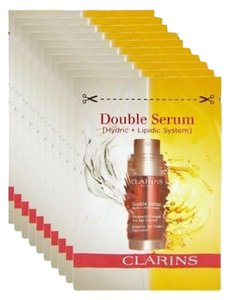 Other set of 7 CLARINS Double Serum Age Control Concentrate samples