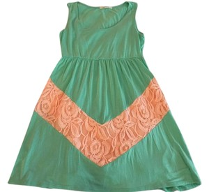 Color Me Red short dress seafoam green on Tradesy