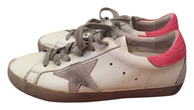 Item - White Bluette Cream Sole Leather Superstar Low Sneakers Size US 8 Regular (M, B)