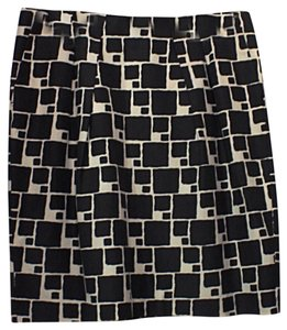 Banana Republic Skirt Black & White