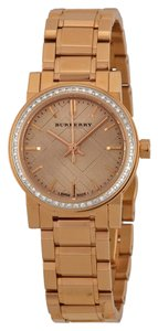Burberry Burberry Rose Dial Diamond Ladies Watch