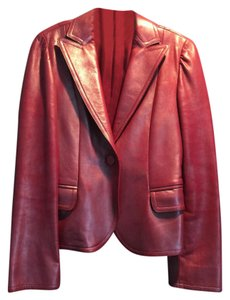 Marc Jacobs Rose Leather Jacket