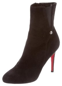 Christian Louboutin Fall Black suede Boots