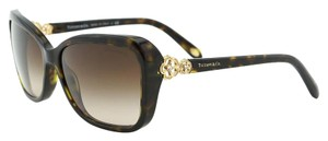 Tiffany & Co. Tiffany TF 4052 Clover Authentic Women Rectangular Sunglasses
