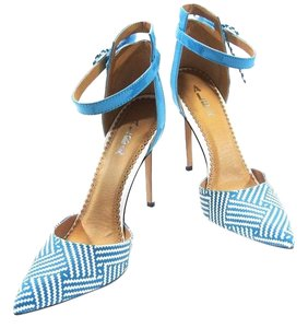 Alba Footwear Blue/White Pumps