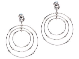 John Hardy JOHN HARDY LARGE BAMBOO CIRCLE EARRINGS