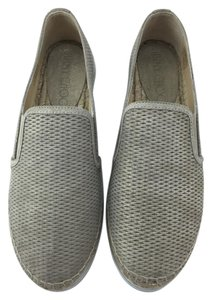 Jimmy Choo Espadrille Sneaker Suede Light Gold Flats