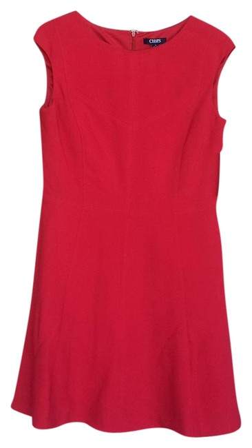 Preload https://img-static.tradesy.com/item/19287610/chaps-red-knee-length-cocktail-dress-size-12-l-0-1-650-650.jpg