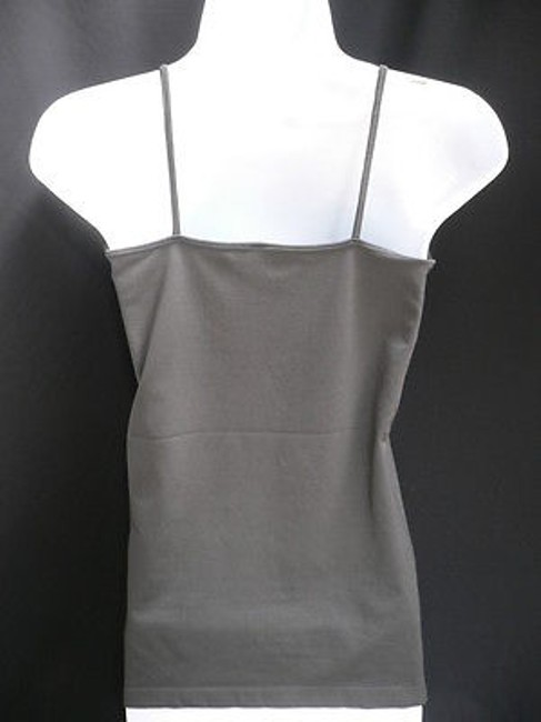 Other Women Basic Camisole Spaghetti Straps Plus Top Gray