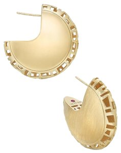 Roberto Coin Huggie Hoop Earrings 18k Gold over Sterling Silver