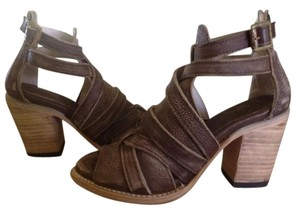 FreeBird By Steven Brown Distressed Sandals