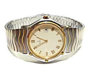Ebel 18K Gold & Stainless Steel Classic Wave Watch