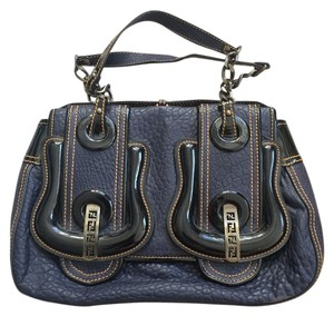 Fendi Satchel in Navy