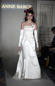 Anne Barge 260 (tags Still Attached Like New) Embroidery Beading Sz 12/14 Wedding Dress