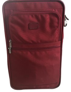 Tumi Red Travel Bag