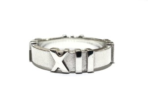 Tiffany & Co. Tiffany & Co Atlas Ring Sterling Silver Size 6