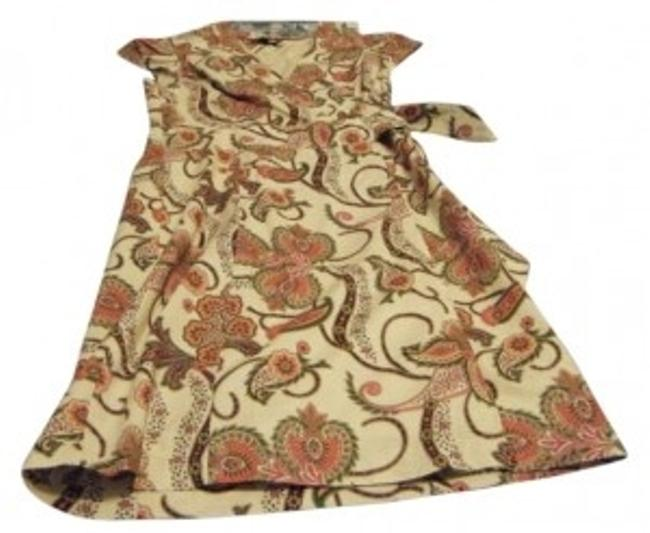 Preload https://item4.tradesy.com/images/tommy-hilfiger-beige-with-multi-colored-paisley-design-knee-length-workoffice-dress-size-8-m-192898-0-0.jpg?width=400&height=650