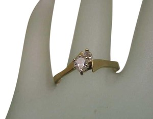 Estate 14K Yellow Gold .40ct Diamond Engagement Ring