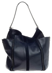 Jimmy Choo Leather Suede Tote