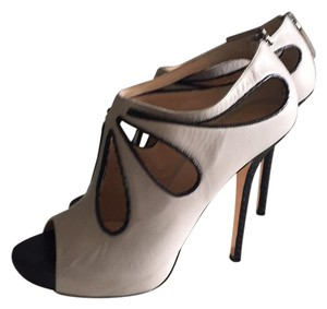 Nina Divito Cream and black Platforms