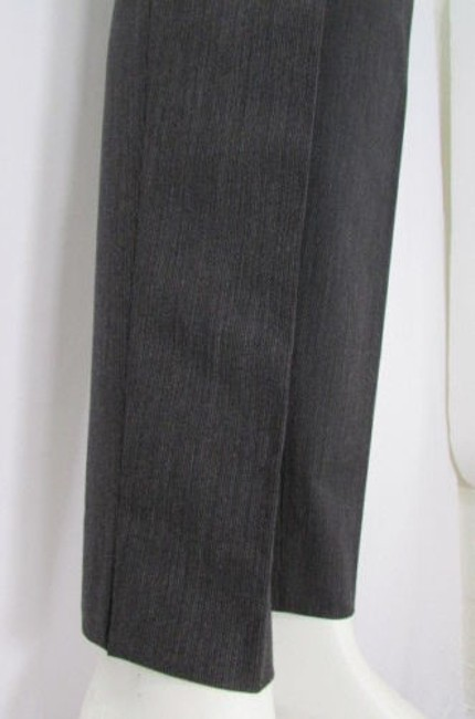 Piazza Sempione Women Charcoal Fashion Pin Stripe Wool Trousers 4410 Pants