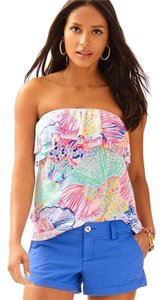 Lilly Pulitzer Tube Roar Of The Seas Top