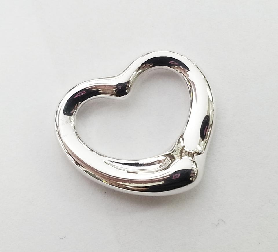 Tiffany co elsa peretti large open heart pendant sterling silver elsa peretti large open heart pendant sterling silver aloadofball Choice Image
