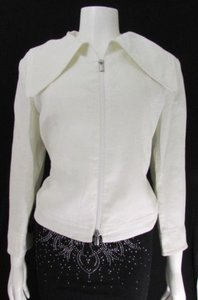 Giorgio Armani Women Cream Jacket