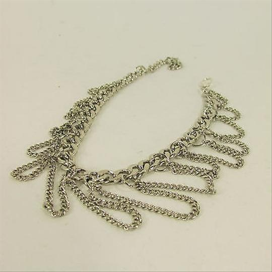 Other N. Women Western Fashion Boot Chain Bracelet Strap Silver Metal Waves Shoe Charm