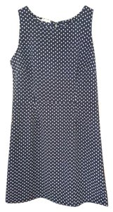 Old Navy short dress Navy Polka Dot Shift on Tradesy
