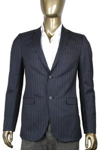 Gucci Striped Dark Gray Blazer