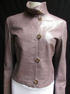 Giorgio Armani Women Light Purple Jacket