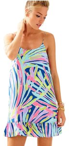 Lilly Pulitzer short dress Indigo Sea Dreamin on Tradesy