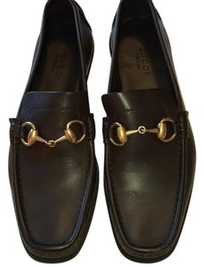 Gucci Dark chestnut Flats