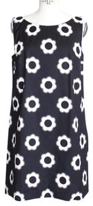 Prada short dress Black and White Floral on Tradesy