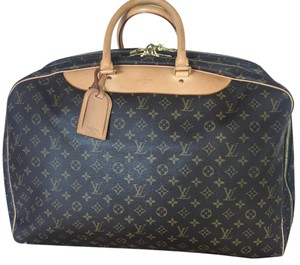 Louis Vuitton Alize 3 Compartment 3 Pouch Brown Travel Bag