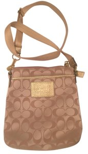 Coach Monogram Cross Body Bag