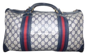 Gucci Doctor's Satchel in shades of blue in large G logo