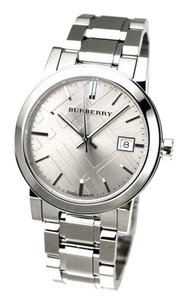 Burberry NEW in BOX Burberry swiss made signature logo quartz Watch BU9143