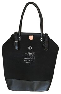 Fleabags Organic Cotton Hemp Canvas Tote in Midnight