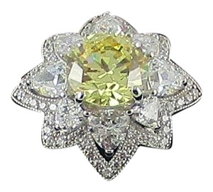 Other Xavier 3.68ct Absolute Canary Starburst Design Ring - Size 8