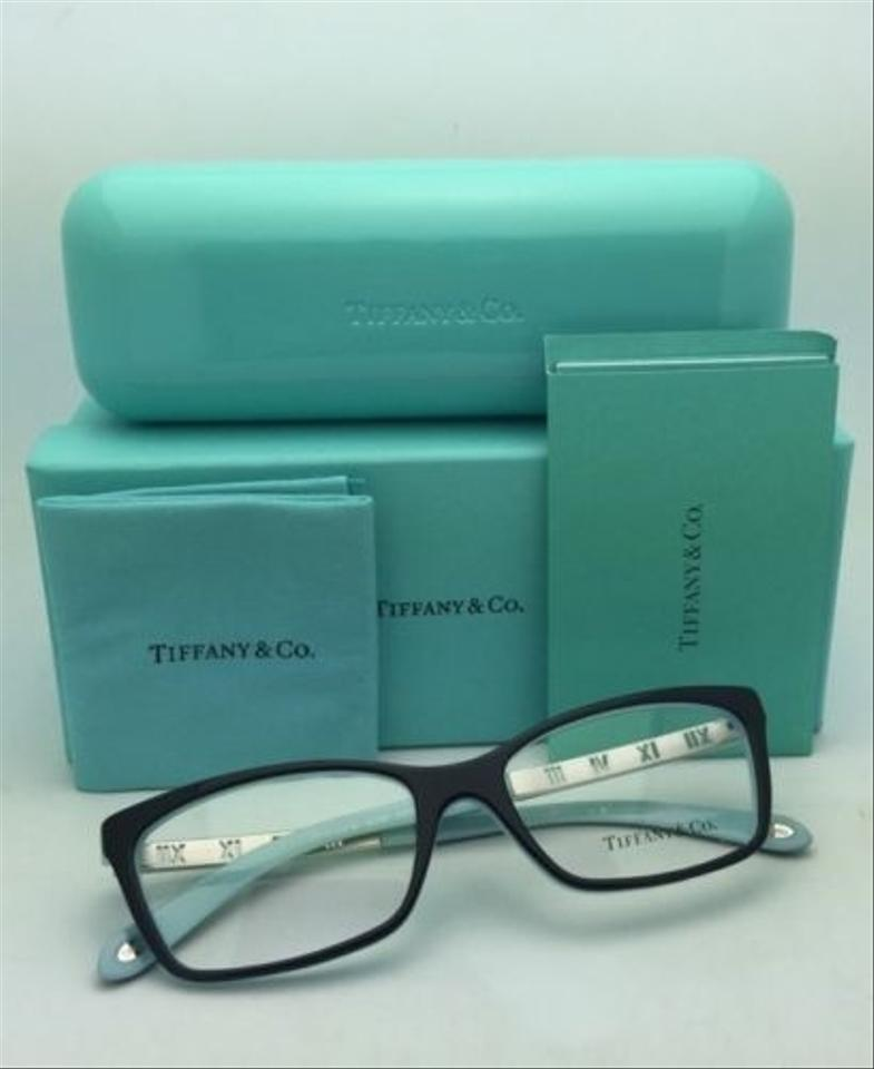 Tiffany & Co. Tf 2103 8055 53-16 Atlas Collection Black Blue Frames ...